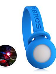 Недорогие -Велосипедные фары Задняя подсветка на велосипед Велоспорт Защита от ветра Простота транспортировки Водонепроницаемый элемент питания - Кнопка Красный