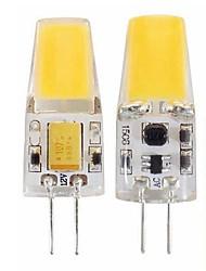 Недорогие -SENCART G4 с регулируемой яркостью 12 В переменного тока / постоянного тока Cob-Light 3 Вт 450LM высокого качества Светодиодная лампа G4-12 В лампы 12-24 В