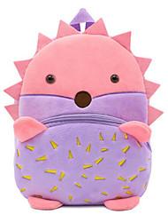 povoljno -Djevojčice Torbe sintetički Školska torba Patent-zatvarač Životinja Crvena