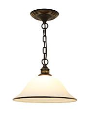 Недорогие -Оригинальные Подвесные лампы Рассеянное освещение Окрашенные отделки Металл Стекло Мини 110-120Вольт / 220-240Вольт