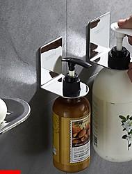 abordables -Crochet à Peignoir / Savon Vaisselle et supports Design nouveau / Cool / Multifonction Moderne Acier inoxydable 3pcs Montage mural