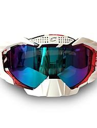 levne -Unisex Motocyklové brýle Sportovní Větruvzdorné / Odolné proti poškrábání / Odolné vůči prachu PC / mikrovlákno houba