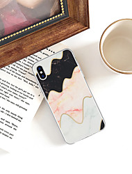 ieftine -Maska Pentru Apple iPhone XR / iPhone XS Max Model Capac Spate Marmură Moale TPU pentru iPhone XS / iPhone XR / iPhone XS Max