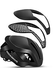 Недорогие -ROCKBROS Для подростков Взрослые Мотоциклетный шлем 15 Вентиляционные клапаны Сетка от насекомых Формованный с цельной оболочкой ESP+PC Виды спорта Шоссейный велосипед Горный велосипед Гонки -