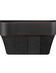 Недорогие -искусственная кожа левое сиденье автомобильная щель щель ящик для хранения карман органайзер держатель телефона