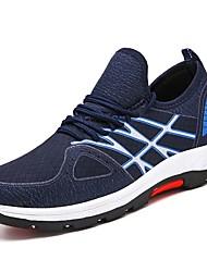 povoljno -Muškarci Udobne cipele Tissage Volant Proljeće & Jesen Atletičarke tenisice Trčanje Dark Blue / Sive boje / Crno / crvena