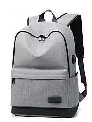 povoljno -Uniseks Torbe Oksford ruksak Patent-zatvarač Jedna barva Red / Sive boje / Navy Plava