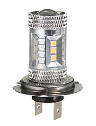 Недорогие -h7 15w светодиодные фары противотуманные фары дневного света дальнего света