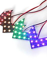 Недорогие -пара dc12v 14smd стрелка светодиодные панели боковое зеркало автомобиля задние указатели поворота