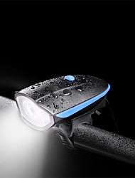 Недорогие -- Велосипедные фары Лампа Передняя фара для велосипеда LED Горные велосипеды Велоспорт Портативные Прочный Литиевая батарея 240 lm Встроенная литий-батарея Белый / АБС-пластик