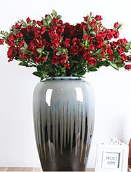 abordables -Fleurs artificielles 3 Une succursale Classique Européen style pastoral Roses Fleur de Table