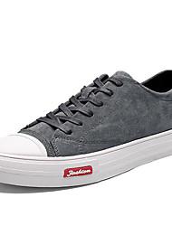 זול -בגדי ריקוד גברים נעלי נוחות PU חורף נעלי ספורט שחור / אפור / חאקי