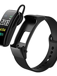 Недорогие -DMDG B31 Умный браслет Android iOS Bluetooth Smart Спорт Водонепроницаемый Пульсомер Измерение кровяного давления ЭКГ + PPG Секундомер Педометр Напоминание о звонке Датчик для отслеживания активности