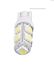 Недорогие -1pcs T10 Автомобиль Лампы 5 W SMD 5050 9 Светодиодная лампа Лампа поворотного сигнала / Боковые габаритные огни / Тормозные огни Назначение Универсальный / Volkswagen / Toyota Все года