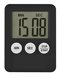 Недорогие -супер тонкий жк-цифровой экран кухонный таймер площадь приготовления отсчет будильник магнит часы темпоридор