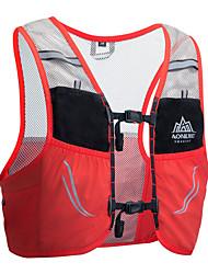 halpa -AONIJIE 2.5 L Selkäreput Hydration Backpack Pack Kevyt Hengittävä Nopea kuivuminen Kulutuskestävyys Ulko- Vaellus Kiipeily Kilpailu Spandex Nylon Punainen Sininen / Yes
