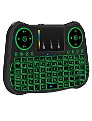 Недорогие -MT08S Air Mouse / Клавиатура / Дистанционное управление Мини Беспроводной 2,4 ГГц беспроводной Air Mouse / Клавиатура / Дистанционное управление Назначение Linux / iOS / Android