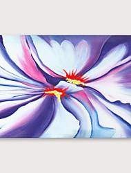 ieftine -Hang-pictate pictură în ulei Pictat manual - Floral / Botanic Modern Includeți cadru interior