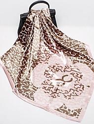 Недорогие -Жен. Квадратный платок - С кисточками Геометрический принт