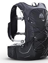 halpa -AONIJIE 15 L Selkäreput Hydration Backpack Pack Kevyt Nopea kuivuminen Kulutuskestävyys Ulko- Vaellus Kilpailu Pyöräily / Pyörä Nylon Musta Sininen / Yes
