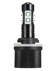 Недорогие -50 Вт 6000 К 880 893 892 кристально белый светодиодный проектор противотуманные фары вождения лампы drl