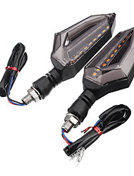 Недорогие -2pcs Мотоцикл Лампы 10 W 9 Светодиодная лампа Лампа поворотного сигнала Назначение Универсальный / Мотоциклы Дженерал Моторс Все года