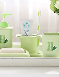 abordables -Gobelet pour brosse à dents simple Moderne contemporain Plastique 1 set Salle de bain