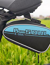 """Недорогие -B-SOUL 2 L Сумка на бока багажника велосипеда Компактность Пригодно для носки Прочный Велосумка/бардачок Ткань """"Оксфорд"""" Велосумка/бардачок Велосумка Велосипедный спорт На открытом воздухе Велоспорт"""