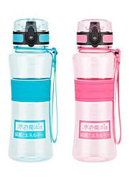 Недорогие -UZSPACE® чайник Бутылки для воды 500 ml PP ПК Пищевые материалы Портативные Cool для Путешествия Катание вне трассы На открытом воздухе Зеленый Фиолетовый Пурпурный Оранжевый Тёмно-синий