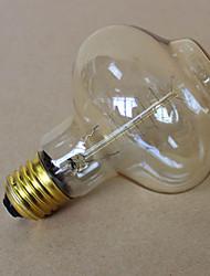 levne -1ks 40 W E26 / E27 Žlutá transparentní tělo Incandescent Vintage Edison žárovka 220-240 V