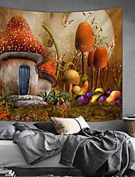 Недорогие -Сад / Сказка Декор стены 100% полиэстер Modern Предметы искусства, Стена Гобелены Украшение
