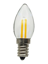 abordables -1pc 1.5 W 30 lm E12 Ampoules Bougies LED 1 Perles LED Décorative 180-240 V