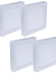 Недорогие -JIAWEN 4шт 24 W 1920 lm 120 Светодиодные бусины Простая установка Осветительная панель Тёплый белый Холодный белый 85-265 V