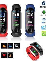 Недорогие -Муж. электронные часы Цифровой Pезина Черный / Синий / Красный 30 m Защита от влаги Календарь ЖК экран Цифровой На каждый день Мода - Черный Темно-синий Красный / Хронометр / Фосфоресцирующий