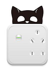 abordables -Autocollants d'interrupteurs - Autocollants muraux animaux Animaux Salle de séjour / Chambre à coucher / Cuisine