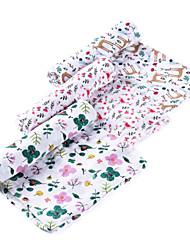 Недорогие -Детские одеяла / Многофункциональные одеяла, Мультипликация / Цветочные ботанический Хлопок удобный Очень мягкий одеяла