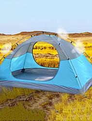 Недорогие -DesertFox® 2 человека Туристические палатки На открытом воздухе С защитой от ветра Дожденепроницаемый Однослойный Карниза Палатка 2000-3000 mm для Пляж  Походы / туризм / спелеология Пикник
