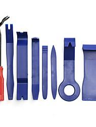 Недорогие -8шт автоматическая отделка для снятия обшивки для дверных панелей оконных планок молдинга обивка автомобиля тире радио аудио установщик инструмент для удаления