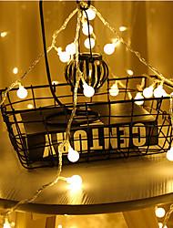 levne -3M Světelné řetězy 20 LED diody Teplá bílá / Vícebarevné Párty / Vánoční svatební dekorace / Malý míč AA baterie Powered 1 sada