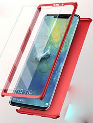 Недорогие -Кейс для Назначение Huawei Huawei P20 / Huawei P20 lite / Huawei P9 Plus Защита от удара Чехол Однотонный Твердый ПК