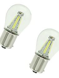 Недорогие -2pcs 1156 / 1157 Автомобиль Лампы 4 W COB 300 lm 4 Светодиодная лампа Лампа поворотного сигнала / Тормозные огни / Фонари заднего хода (резервные) Назначение Универсальный Все года