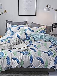 お買い得  -布団カバーセット フラワー / 贅沢 / 現代風 ポリスター プリント 4個Bedding Sets