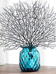 Недорогие -Искусственные Цветы 1 Филиал Классический Традиционный / классический Простой стиль Pастений Вечные цветы Букеты на стол