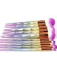 economico -Personalizzato Legno-Plastico Composito Set di pennelli Sposa Matrimonio / Regalo -