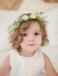 Недорогие -Дети / Дети (1-4 лет) Девочки Активный Цветочный принт Аксессуары для волос Белый / Оранжевый Один размер