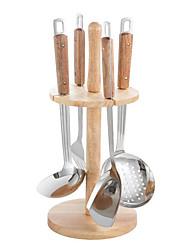 Недорогие -Нержавеющая сталь Наборы инструментов для приготовления пищи Жизнь Инструменты Творческая кухня Гаджет Кухонная утварь Инструменты Повседневное использование Для приготовления пищи Посуда 1 комплект