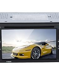 Недорогие -Factory OEM YYD-6205 6.2 дюймовый 2 Din Другое В-Dash DVD-плеер Сенсорный экран / MP3 / Встроенный Bluetooth для Универсальный RCA / Mini USB / Bluetooth Поддержка AVI / MOV / WMV MP3 / WMA / WAV