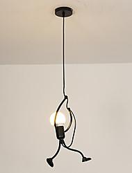 Недорогие -Оригинальные Подвесные лампы Рассеянное освещение Окрашенные отделки Металл Творчество 110-120Вольт / 220-240Вольт Теплый белый