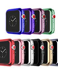 זול -מגן עבור Apple Apple Watch Series 3 / Apple Watch Series 2 / Apple Watch Series 1 סיליקון Apple