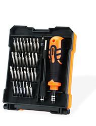 Недорогие -JAKEMY Портативные Инструменты 34 в 1 Ящики для инструментов Наборы инструментов Домашний ремонт Ремонт Apple Samsung для ремонта компьютеров